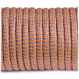 Paracord Type III 550, grey orange wave #329